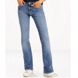 Levi's Jeans - Levi's boot cut light blue